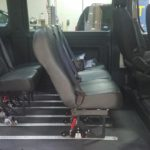 Interior seating view of 2018 DODGE RAM PROMASTER with REV AIRRIDE CONVERSION