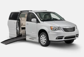 Chrysler van with Power XT BraunAbility conversion