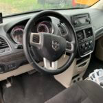 Interior driver seat view of 2015 Dodge Grand Caravan SXT