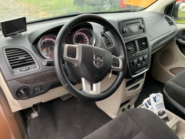 Interior driver seat view of 2015 Dodge Grand Caravan SXT