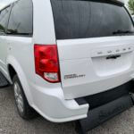 Exterior back view of 2015 Dodge Grand Caravan SXT