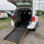 Exterior rear ramp opened view of 2015 Dodge Grand Caravan SXT