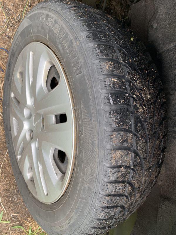 Tire view of 2015 Dodge Grand Caravan SXT