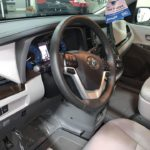 Interior left angle driver seat view of 2020 TOYOTA SIENNA XLE