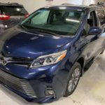 Front driver side view of 2020 TOYOTA SIENNA XLE