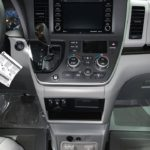 middle area between driver and passenger view of 2020 TOYOTA SIENNA XLE