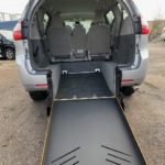 Rear view opened ramp view of 2018 TOYOTA SIENNA
