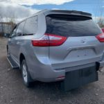 Rear side driver side angle view of 2018 TOYOTA SIENNA