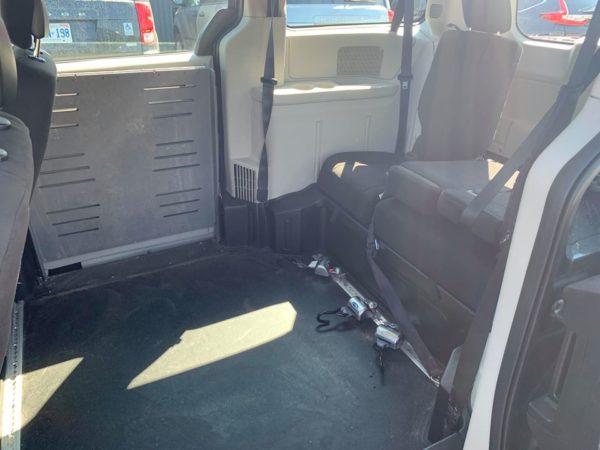driver sliding door open view of 2013 Dodge Grand Caravan