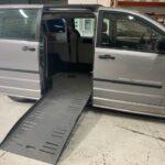 Ramp open view of 2013 Dodge Grand Caravan