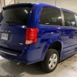 Exterior of back right angle of 2019 Dodge Grand Caravan SE+