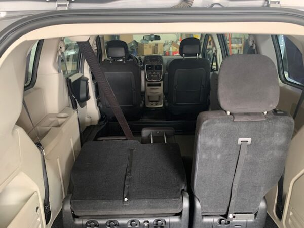 rear view of trunk opened up of 2013 Dodge Grand Caravan