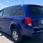 Rear side exterior view of 2019 Dodge Grand Caravan SE+