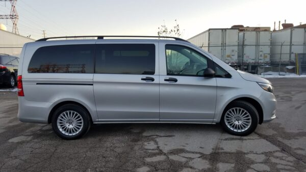 second exterior right side view of 2020 Mercedes Metris