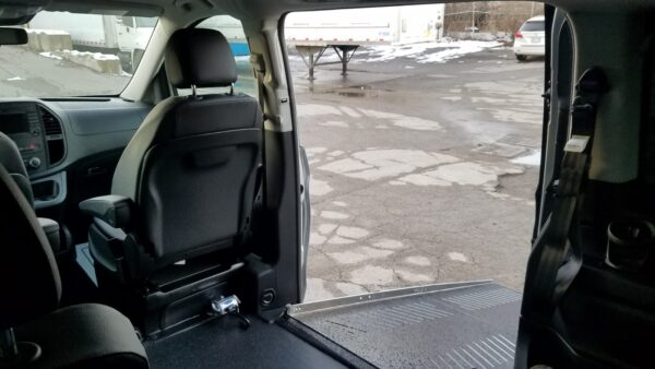 second interior ramp view of 2020 Mercedes Metris